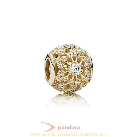 Find Pandora Jewelry Pandora Collections Inner Radiance Charm Clear Cz 14K Gold