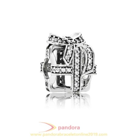 Find Pandora Jewelry Pandora Birthday Charms All Wrapped Up Clear Cz