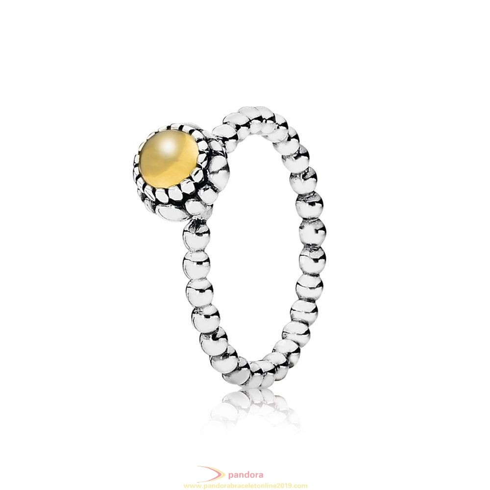 Find Pandora Jewelry Pandora Rings Birthday Blooms Ring November Citrine