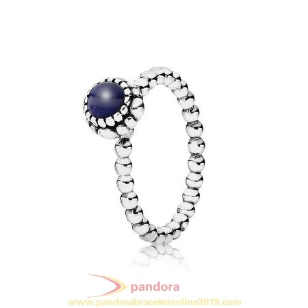 Find Pandora Jewelry Pandora Rings Birthday Blooms Ring September Lapis Lazuli