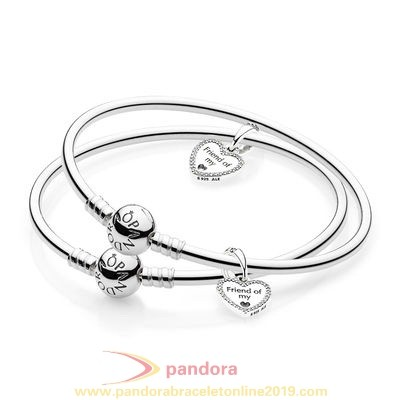 Find Pandora Jewelry Friends Forever Bangle Gift Set