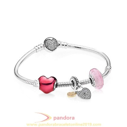 Find Pandora Jewelry Pandora Gifts Heart Beating 925 Silver Ladies Bracelets Gift Set