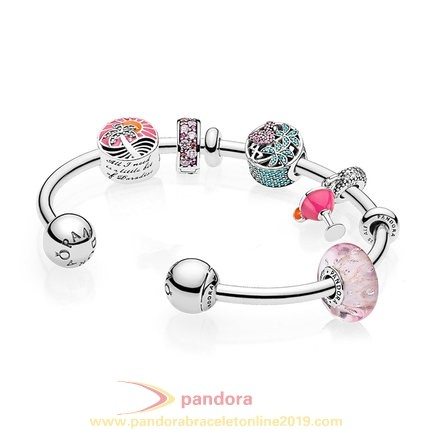 Find Pandora Jewelry Pandora Gifts Passion Summer 925 Silver Open Bracelets String Gift Sets