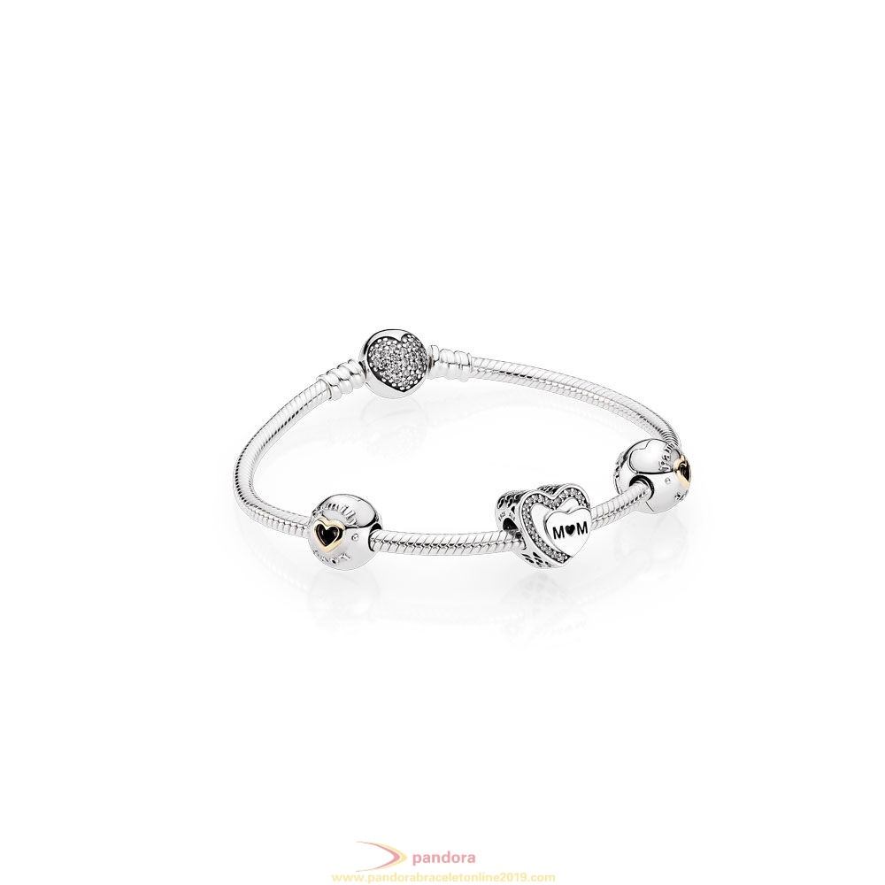 Find Pandora Jewelry Pandora Holiday Gift Tribute To Mom Bracelet Set