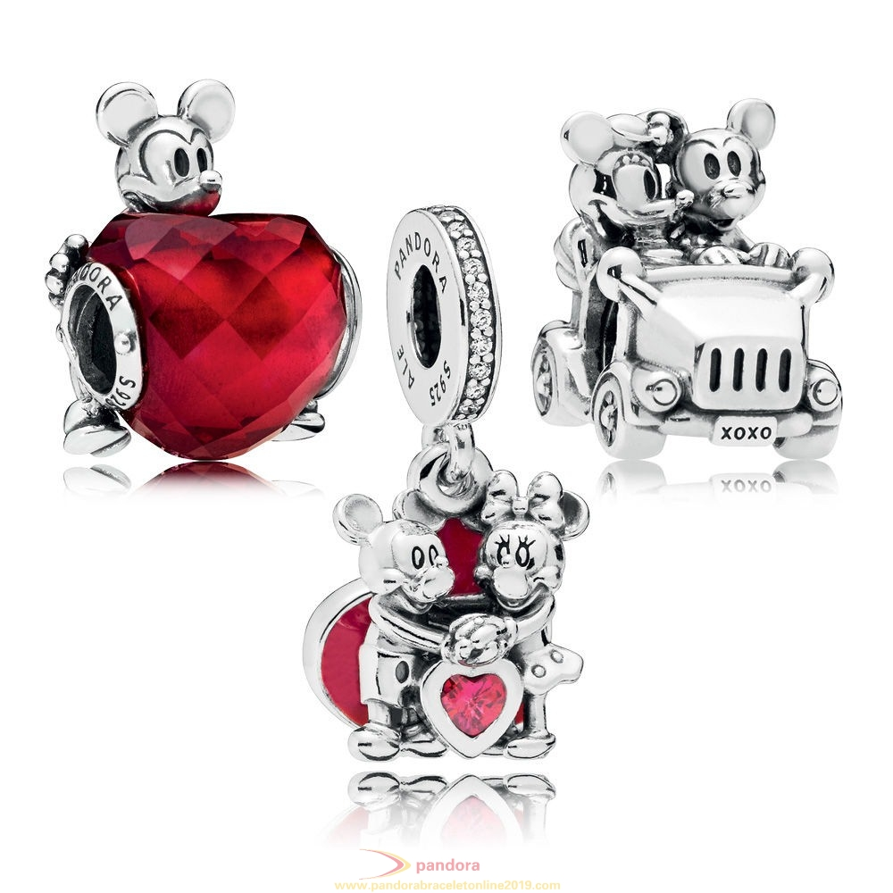 Find Pandora Jewelry Disney Mickey And Minnie Love Charm Pack