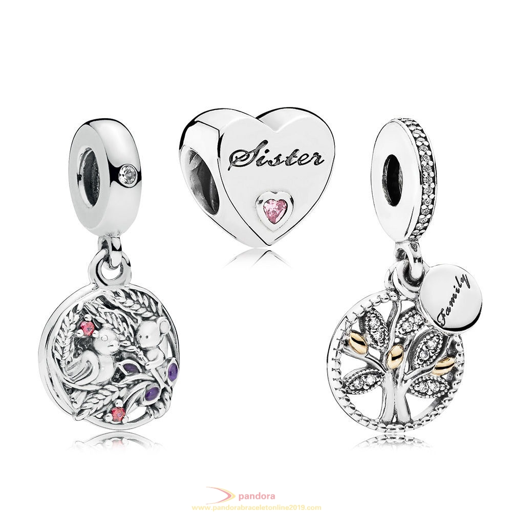 Find Pandora Jewelry Family Is Forever Charm Pack
