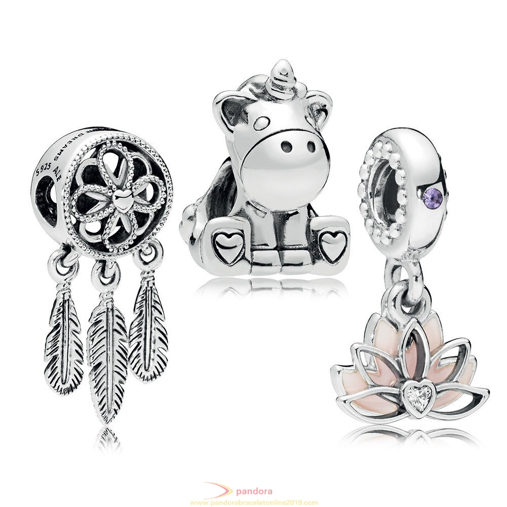 Find Pandora Jewelry Serene Dreams Charm Pack