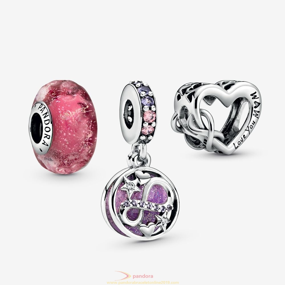 Find Pandora Jewelry Glittering Infinity Charm Pack