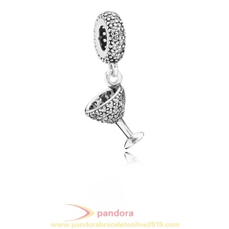 Find Pandora Jewelry Pandora Passions Charms Chic Glamour Night Out Pendant Charm Clear Cz