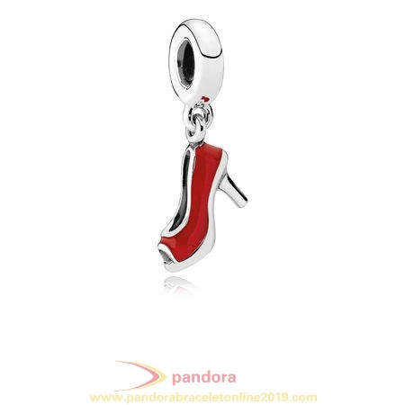 Find Pandora Jewelry Pandora Passions Charms Chic Glamour Red Stiletto Pendant Charm Red Enamel