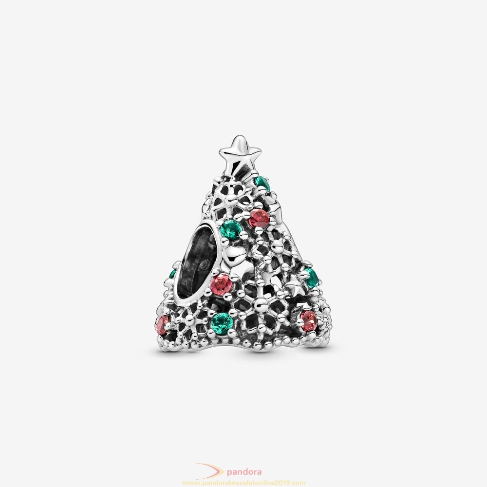 Find Pandora Jewelry Glitter Christmas Tree Charm