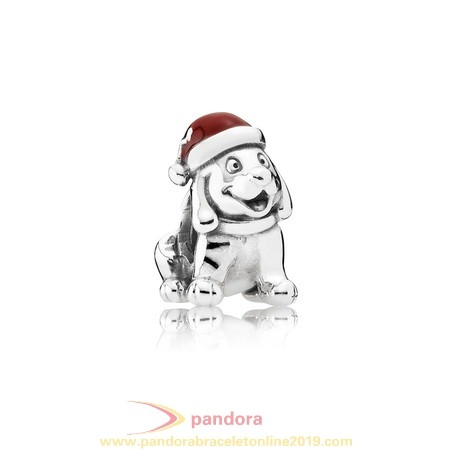 Find Pandora Jewelry Pandora Holidays Charms Christmas Christmas Puppy Charm Red Enamel