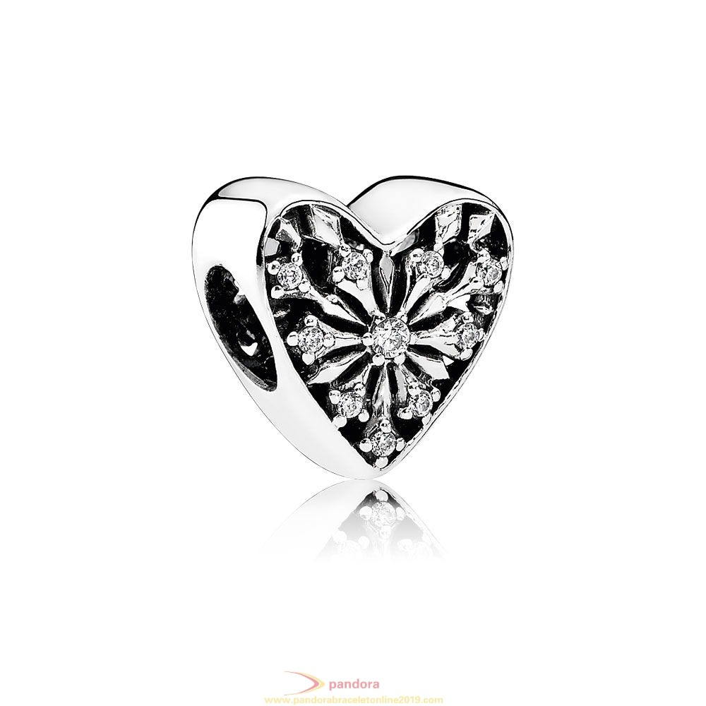 Find Pandora Jewelry Pandora Holidays Charms Christmas Heart Of Winter Charm Clear Cz