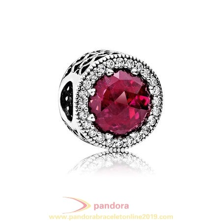 Find Pandora Jewelry Pandora Holidays Charms Christmas Radiant Hearts Charm Cerise Crystal Clear Cz