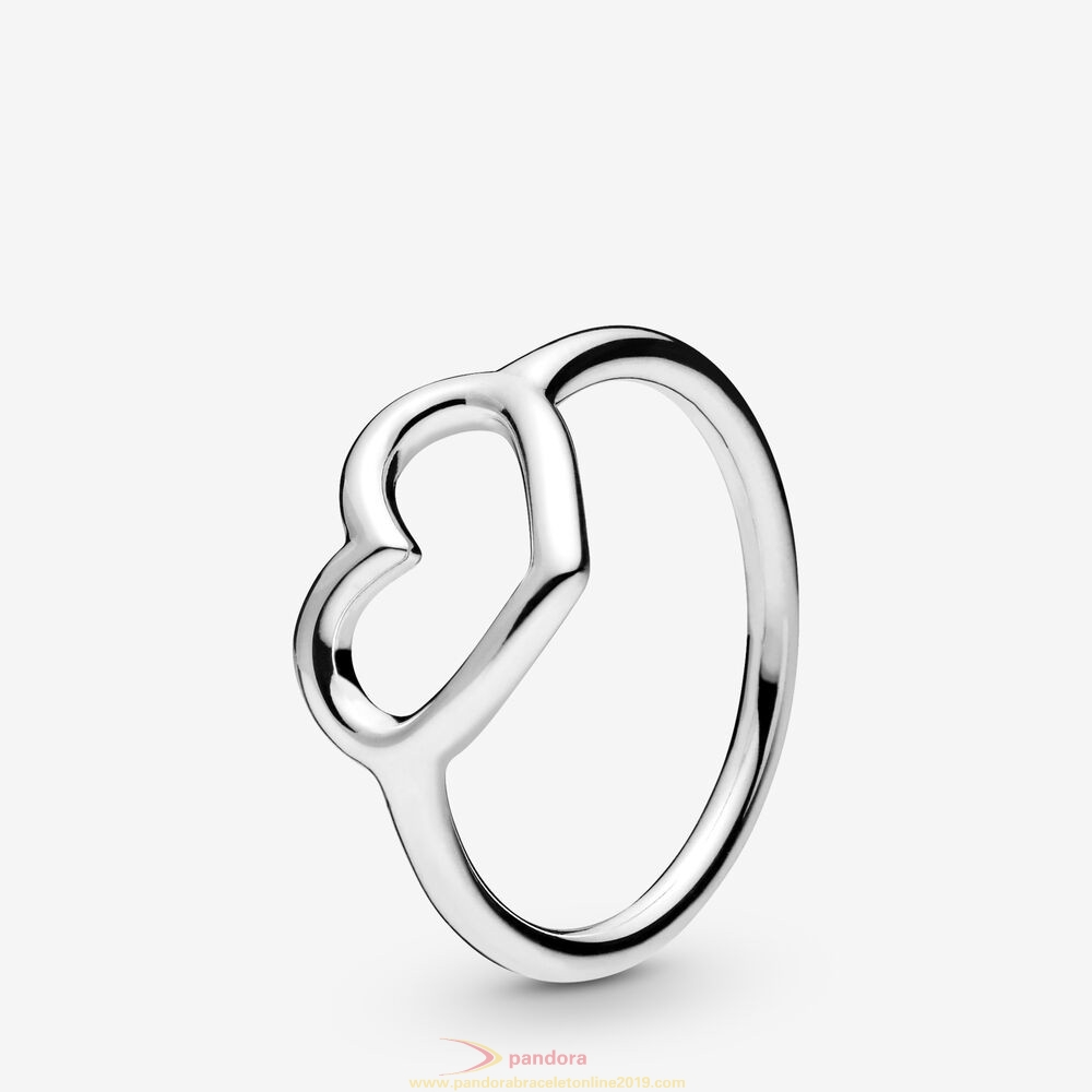 Find Pandora Jewelry Polished Open Heart Ring