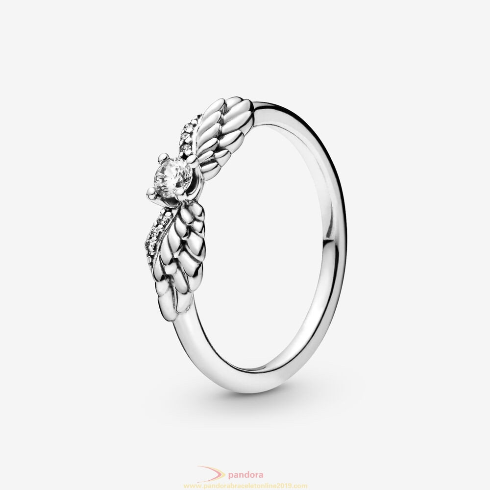 Find Pandora Jewelry Sparkling Angel Wings Ring