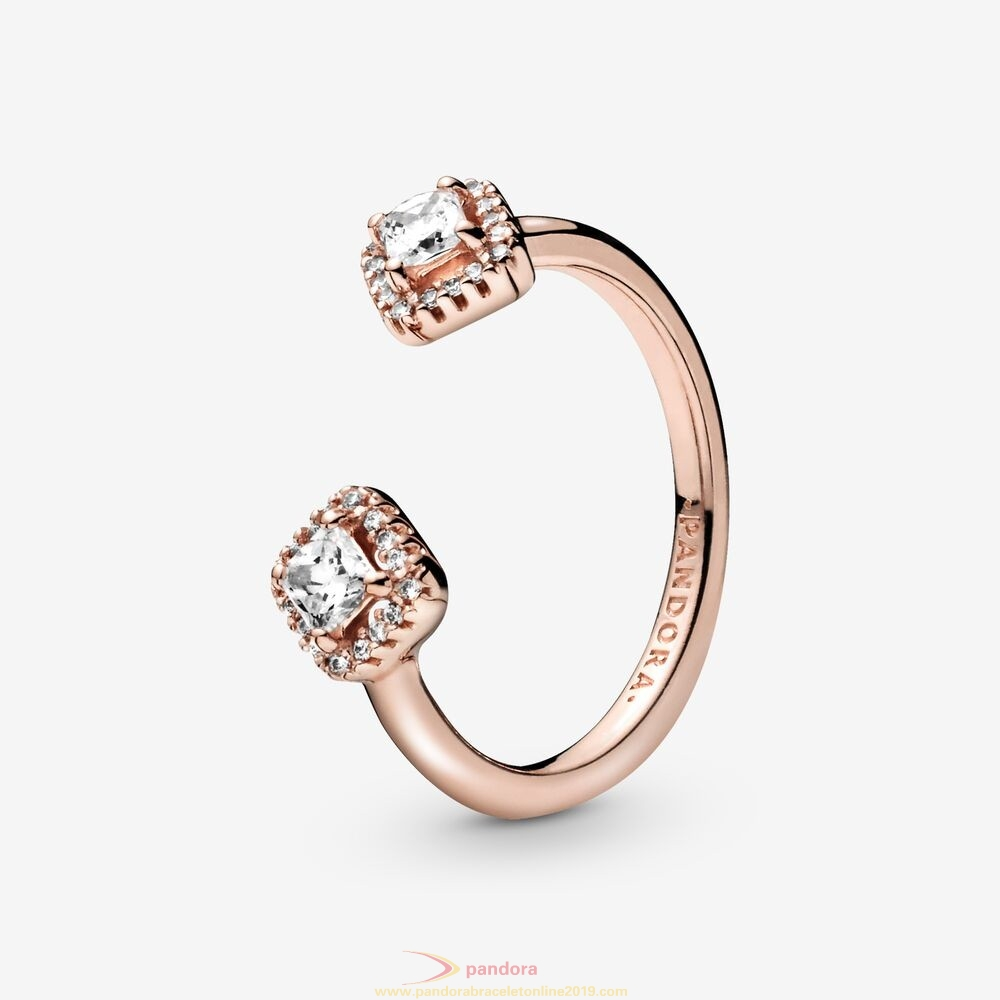Find Pandora Jewelry Square Sparkle Open Cz Ring
