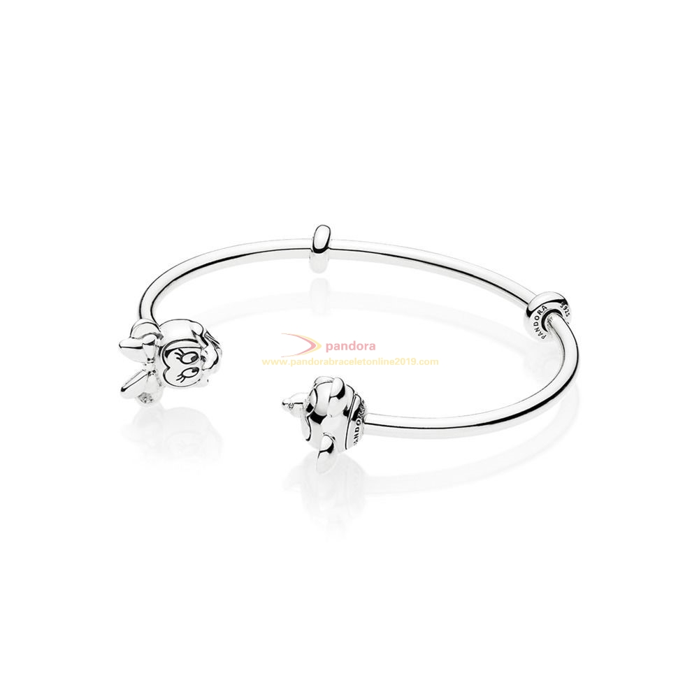 Find Pandora Jewelry Open Mix Mickey And Minnie In Silver