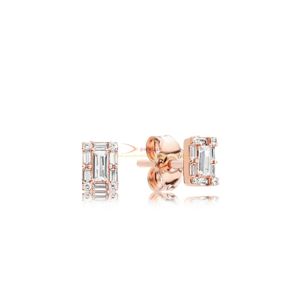 Find Pandora Jewelry Pandora Rose Luminous Ice Earring Studs