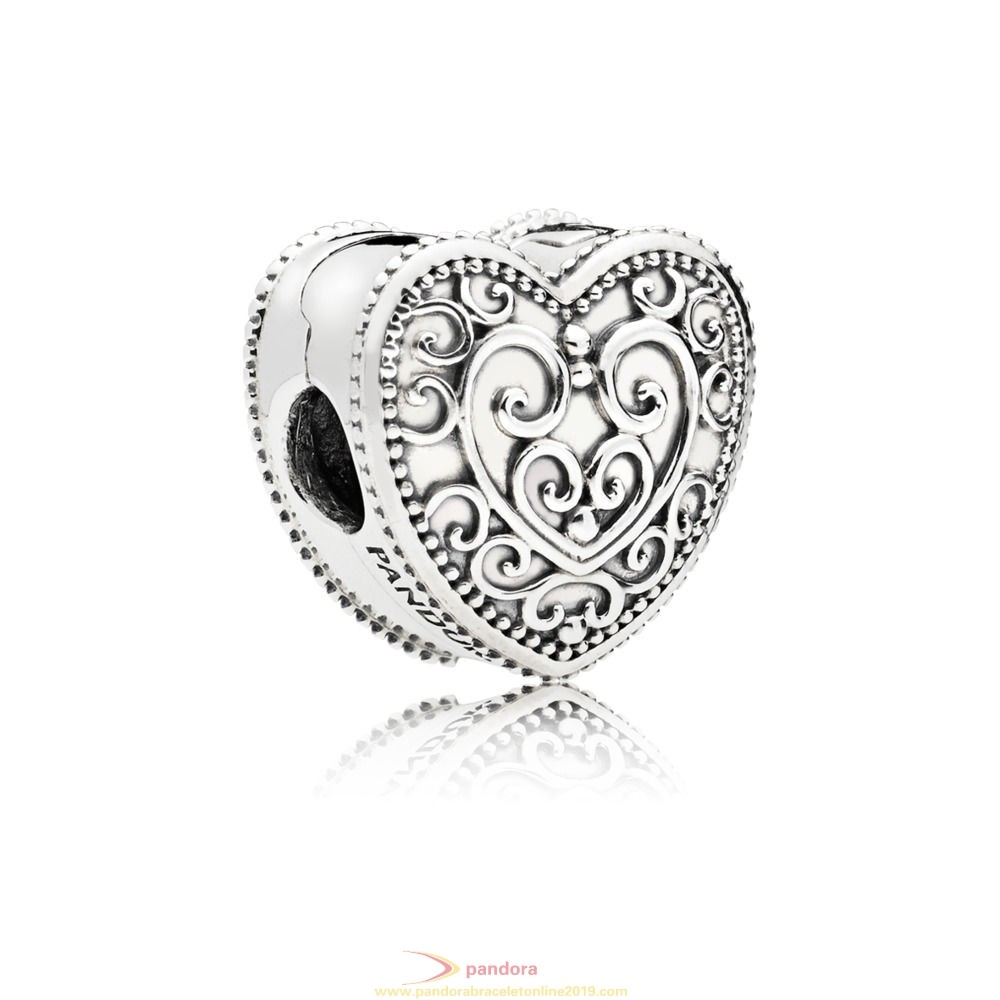 Find Pandora Jewelry Enchanted Heart Clip Charm