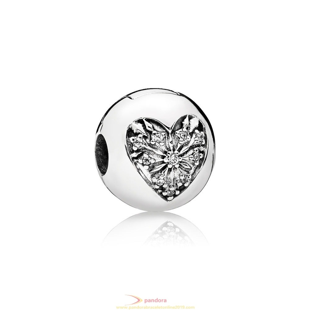 Find Pandora Jewelry Heart Of Winter Clip