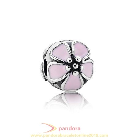 Find Pandora Jewelry Pandora Clips Charms Cherry Blossom Clip Pink Enamel