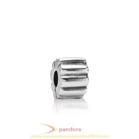 Find Pandora Jewelry Pandora Clips Charms Ribbed Clip