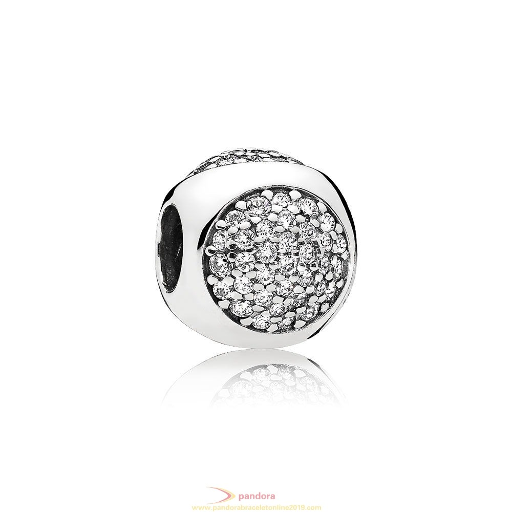 Find Pandora Jewelry Pandora Contemporary Charms Dazzling Droplet Charm Clear Cz