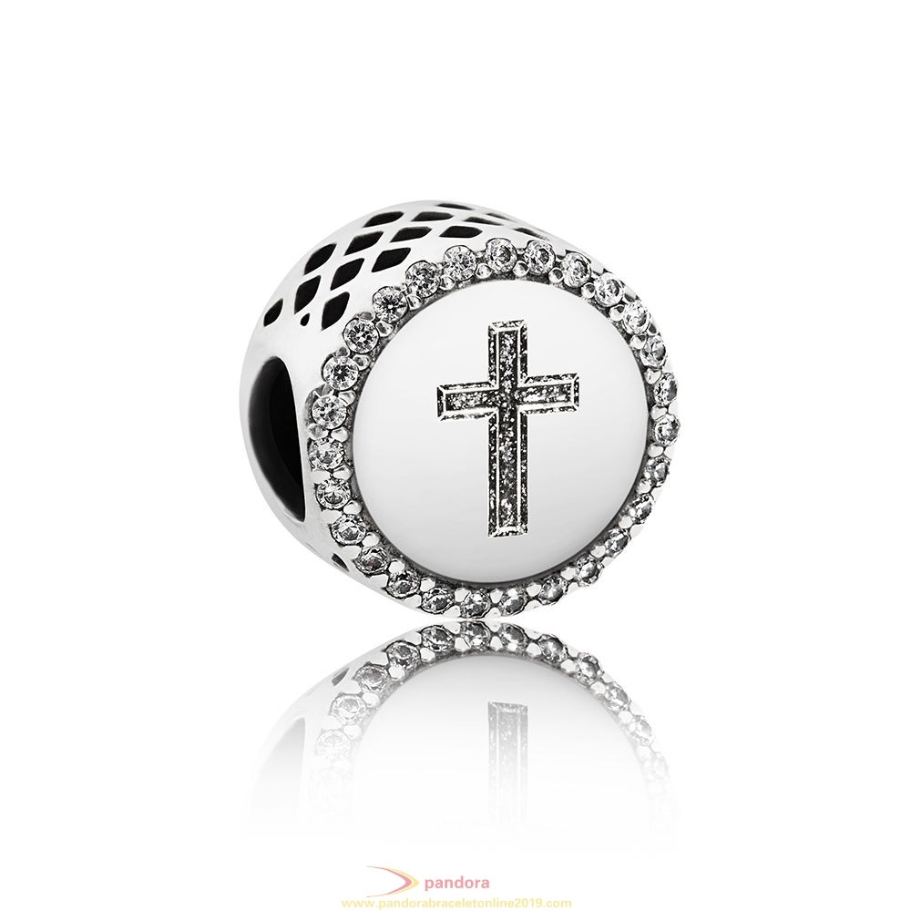 Find Pandora Jewelry Pandora Contemporary Charms Faith Cross Charm