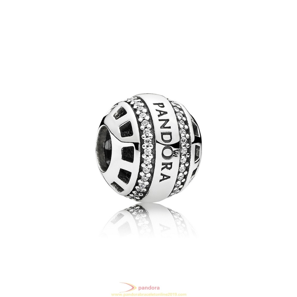 Find Pandora Jewelry Pandora Contemporary Charms Forever Pandora Charm Clear Cz