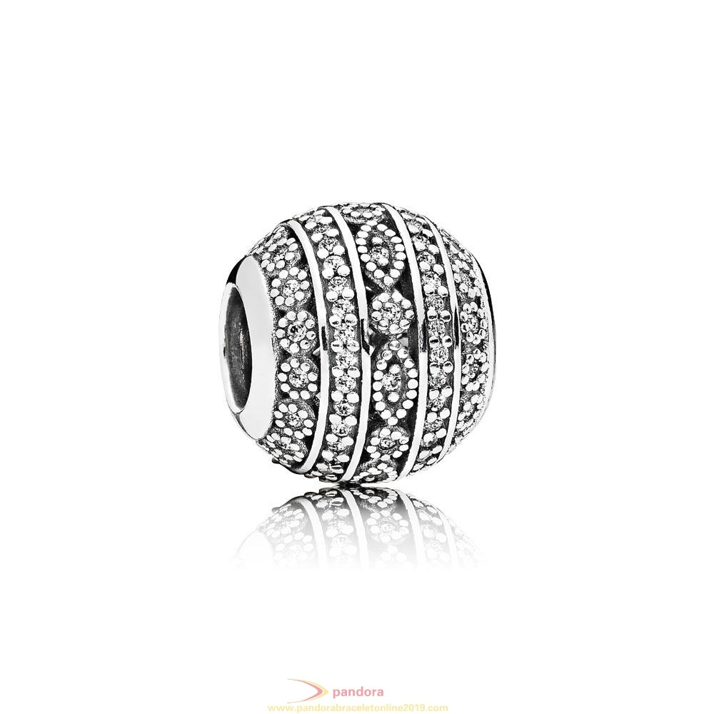 Find Pandora Jewelry Pandora Contemporary Charms Glittering Shapes Charm Clear Cz
