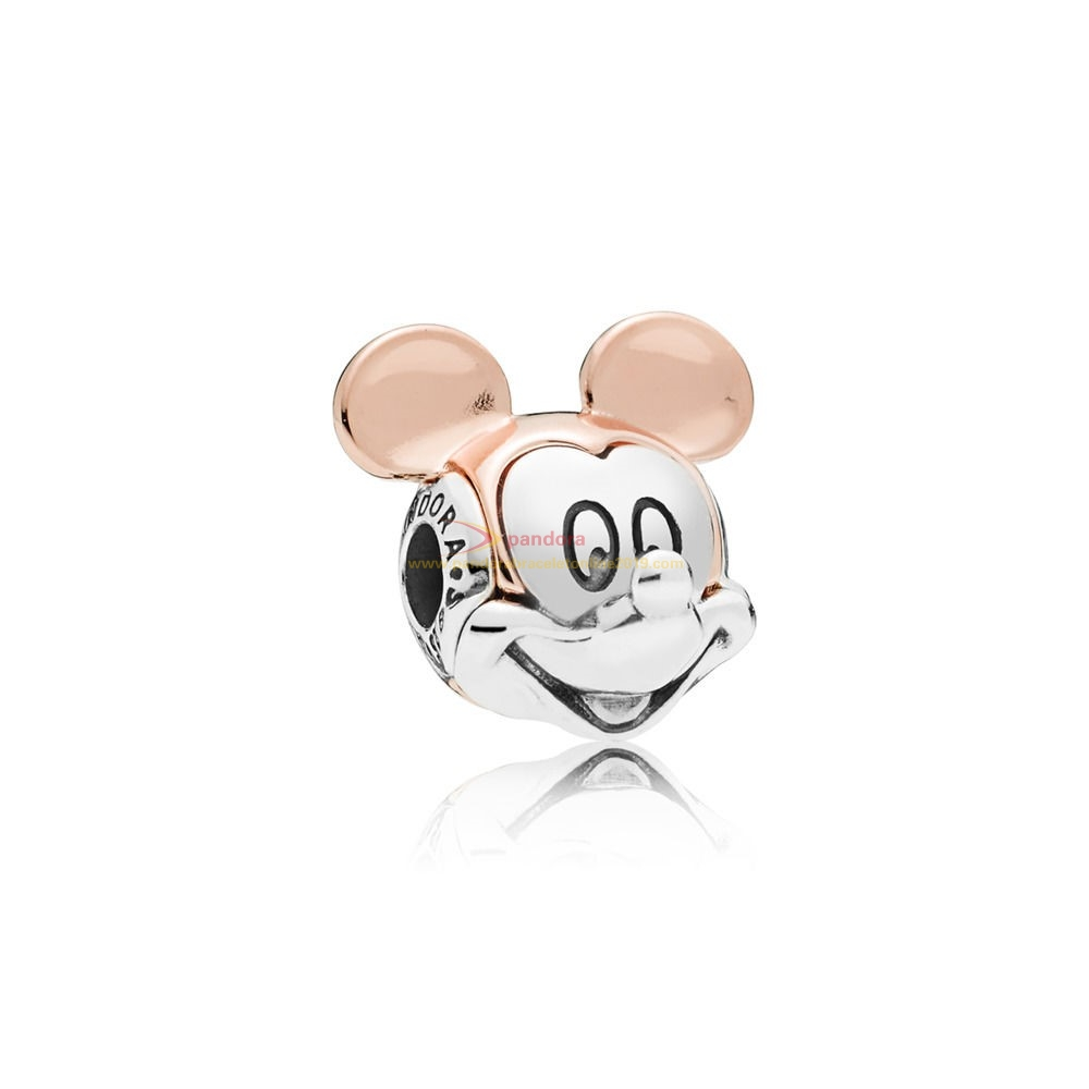 Find Pandora Jewelry Charm Disney, Portrait De Mickey Bicolore
