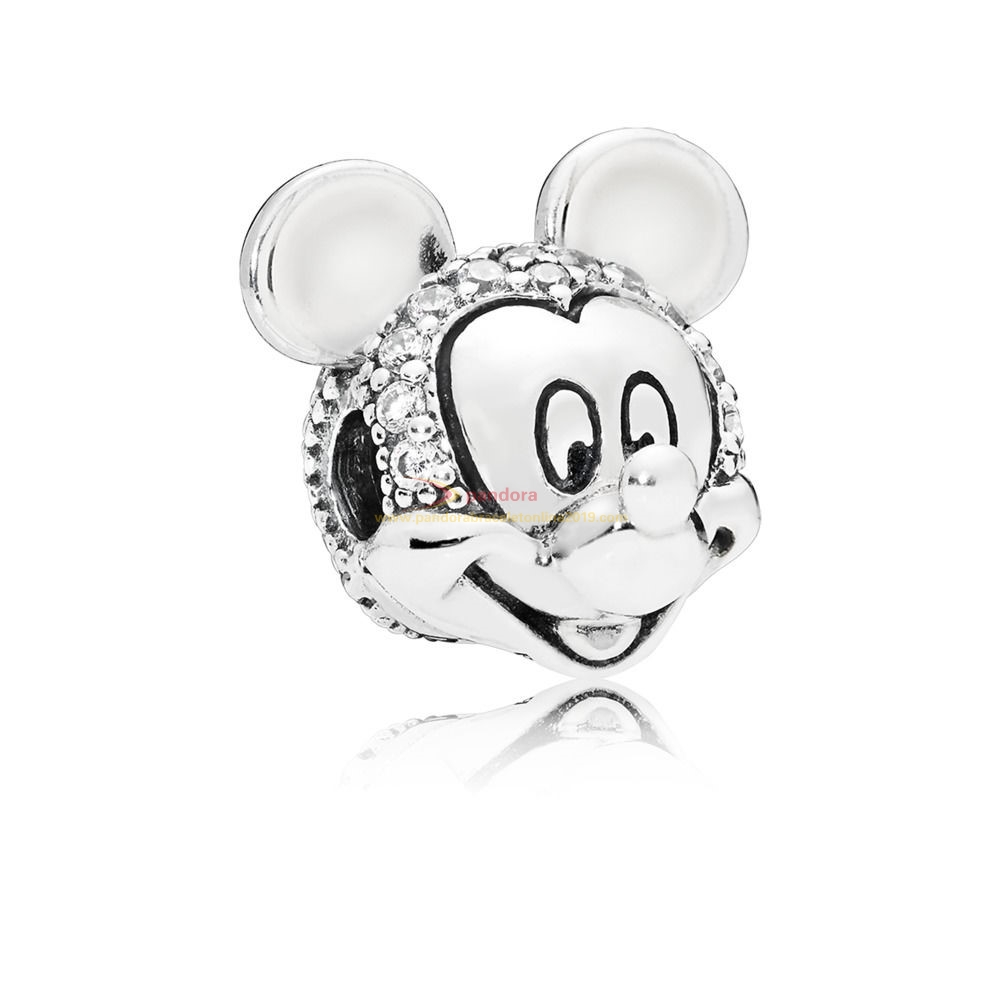 Find Pandora Jewelry Clip Disney, Portrait De Mickey Scintillant
