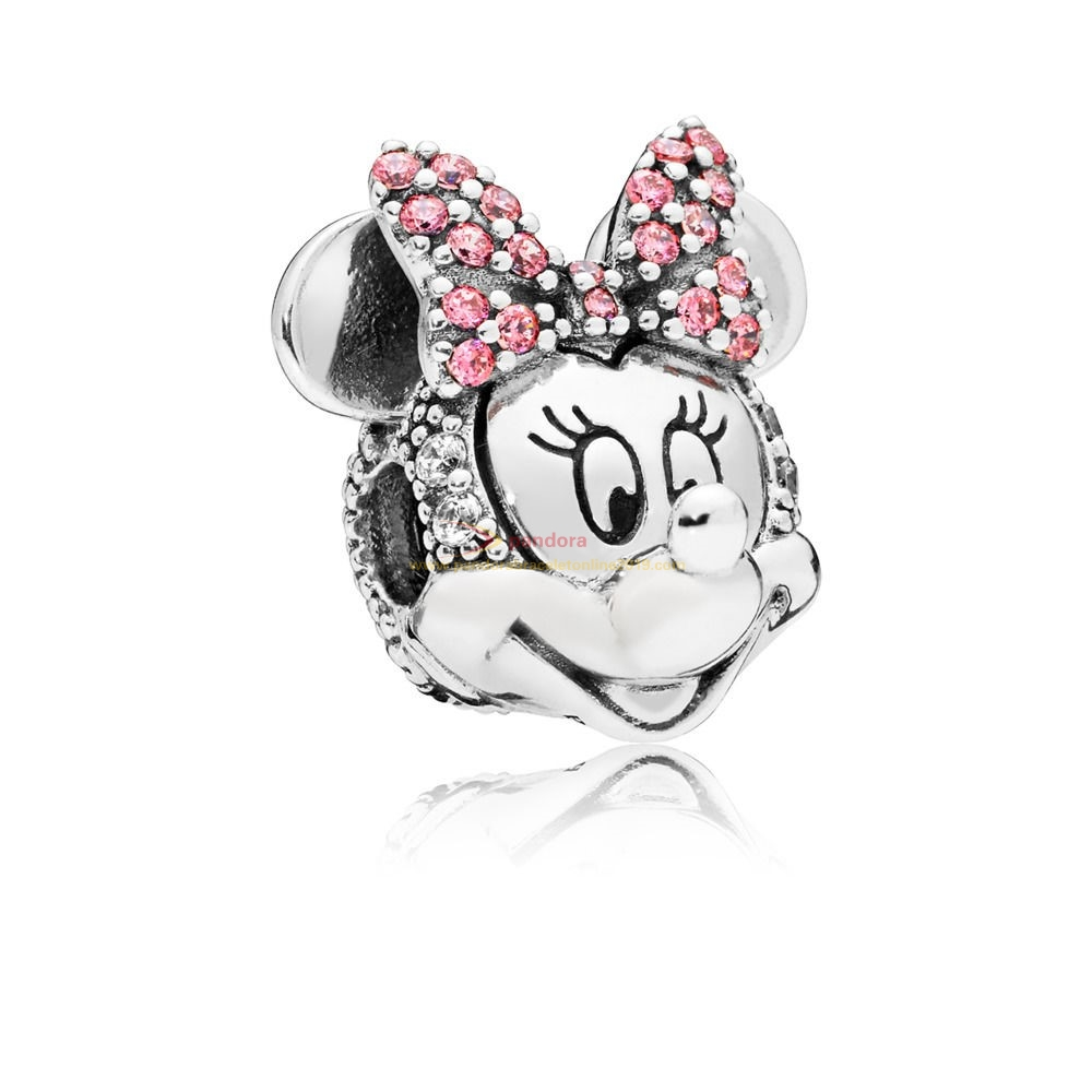 Find Pandora Jewelry Clip Disney, Portrait De Minnie Scintillant