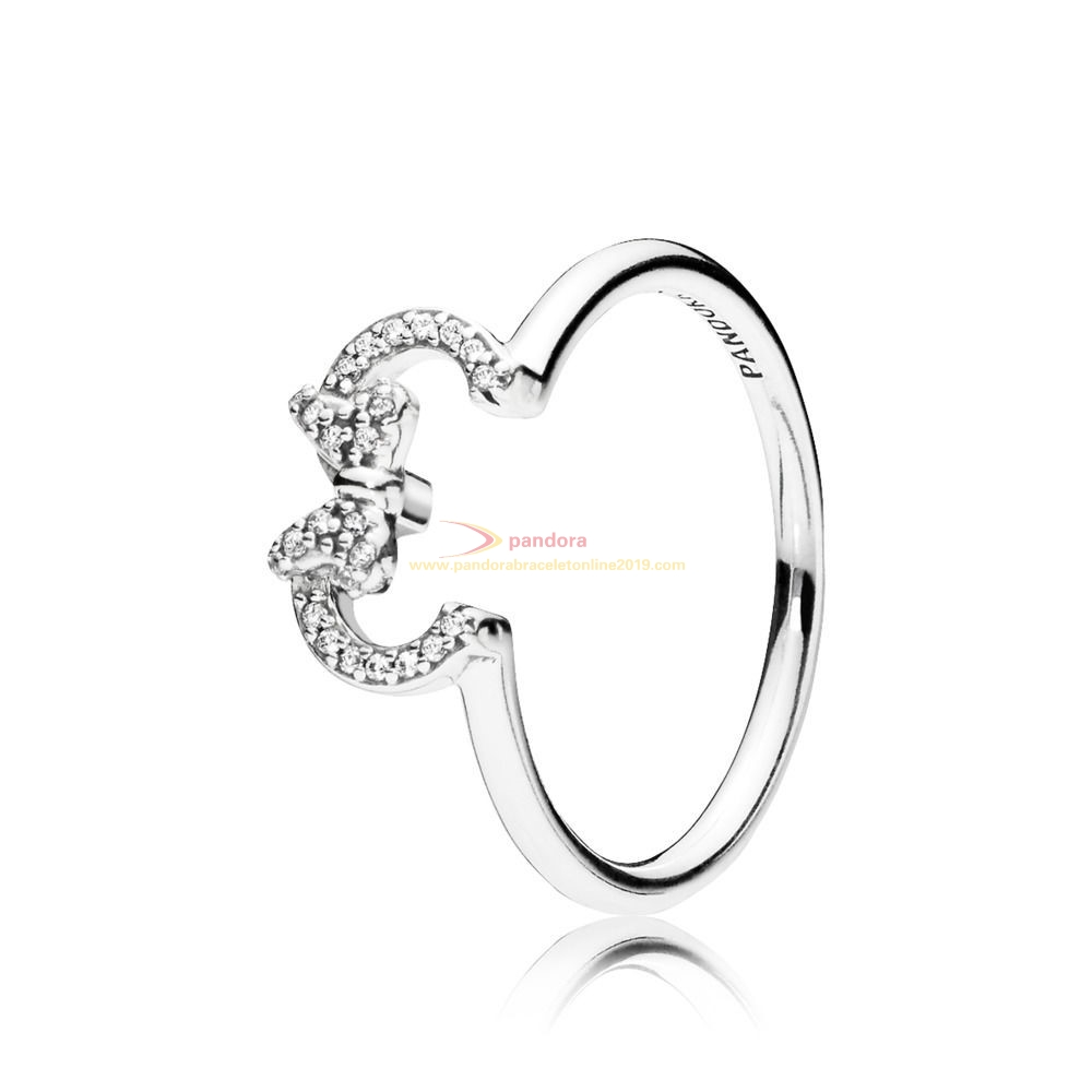 Find Pandora Jewelry Disney Ring Silhouette Of Silver Minnie