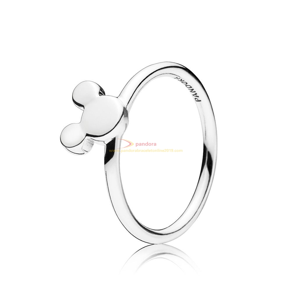 Find Pandora Jewelry Disney Ring, Silke Mickey Silhouette