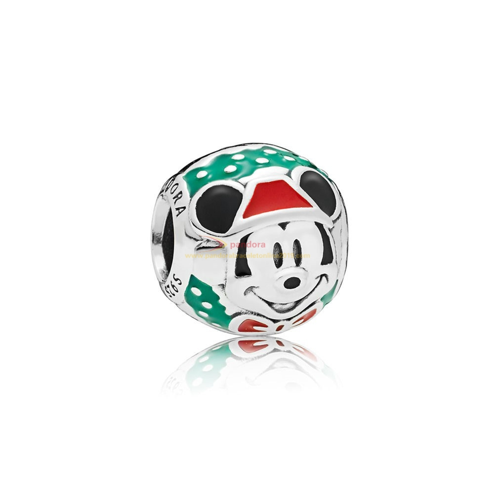 Find Pandora Jewelry Disney Santa Mickey Charm