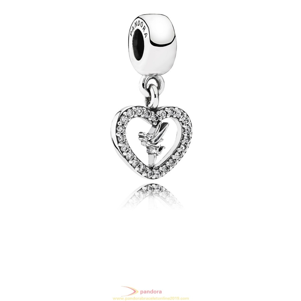 Find Pandora Jewelry Pandora Disney Charms Love Tinker Bell Pendant Charm Clear Cz