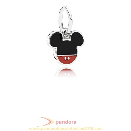 Find Pandora Jewelry Pandora Disney Charms Mickey Icon Pendant Charm Mixed Enamel