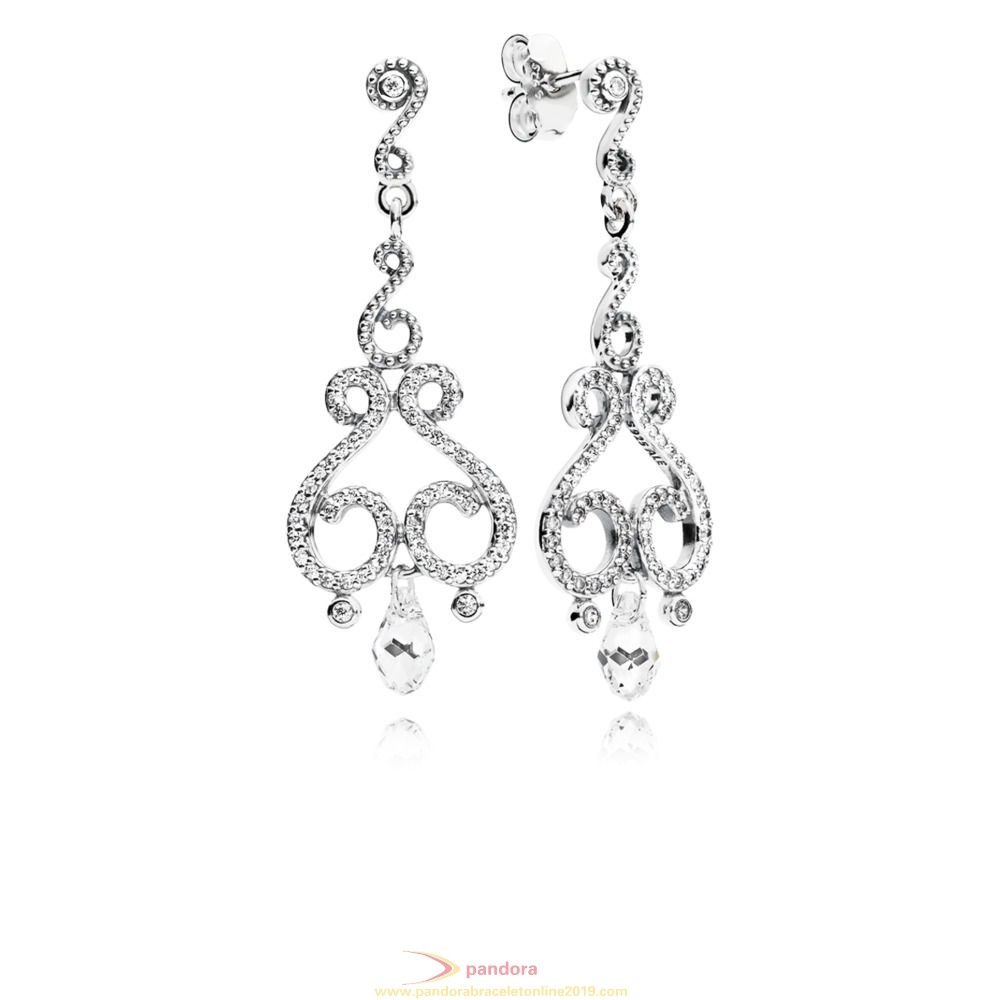 Find Pandora Jewelry Chandelier Droplets Hanging Earring Studs