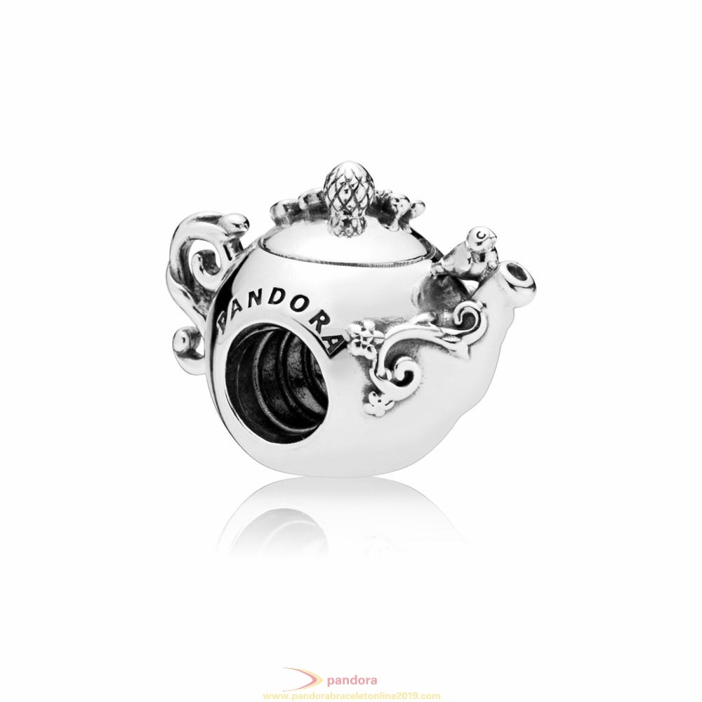 Find Pandora Jewelry Enchanted Tea Pot Charm
