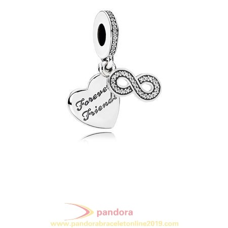 Find Pandora Jewelry Pandora Friends Charms Forever Friends Pendant Charm Clear Cz