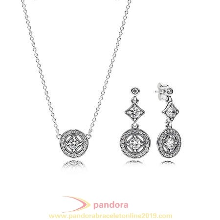 Find Pandora Jewelry Pandora Holiday Gift Timeless Elegance Vintage Allure Jewelry Gift Set