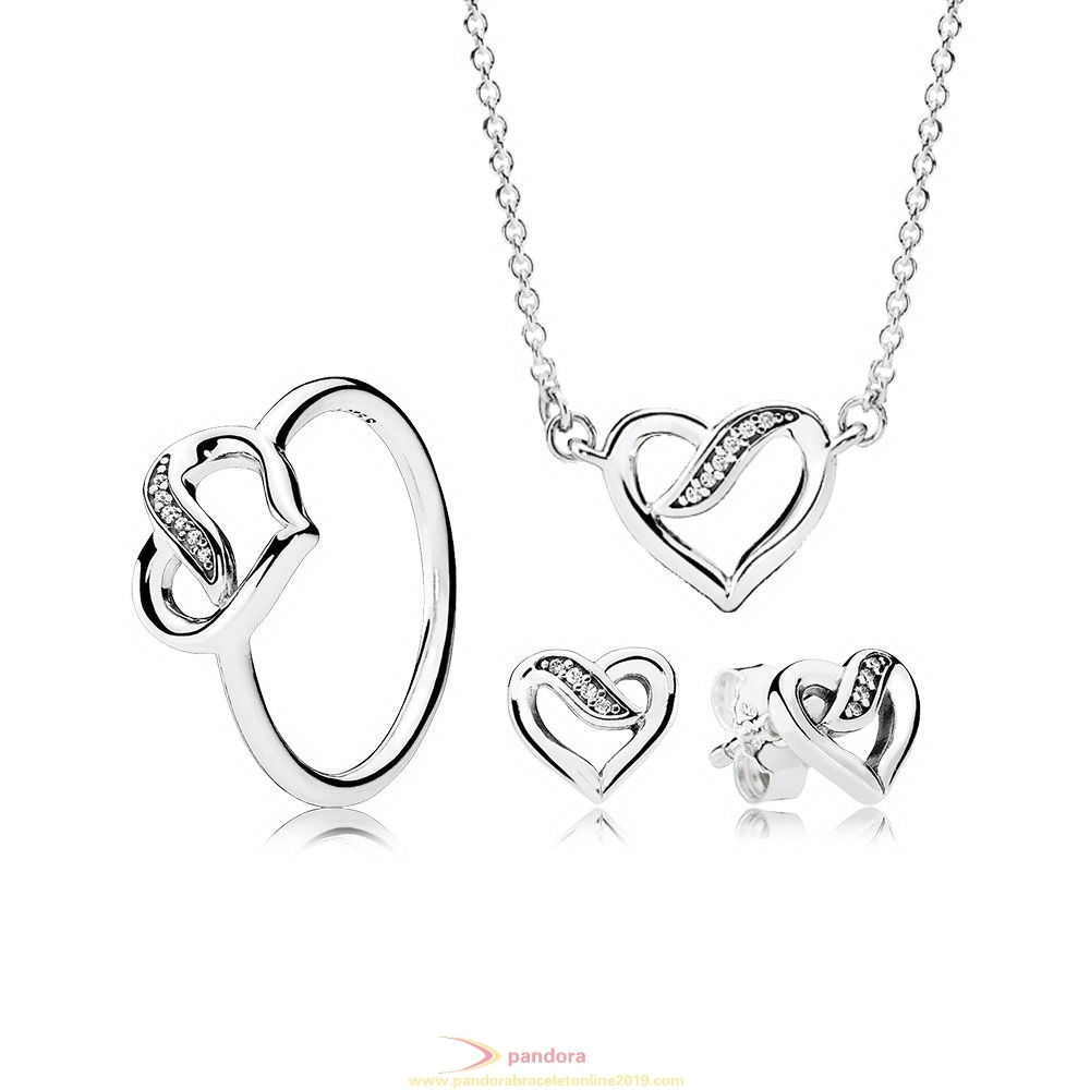 Find Pandora Jewelry Ribbons Of Love Gift Set