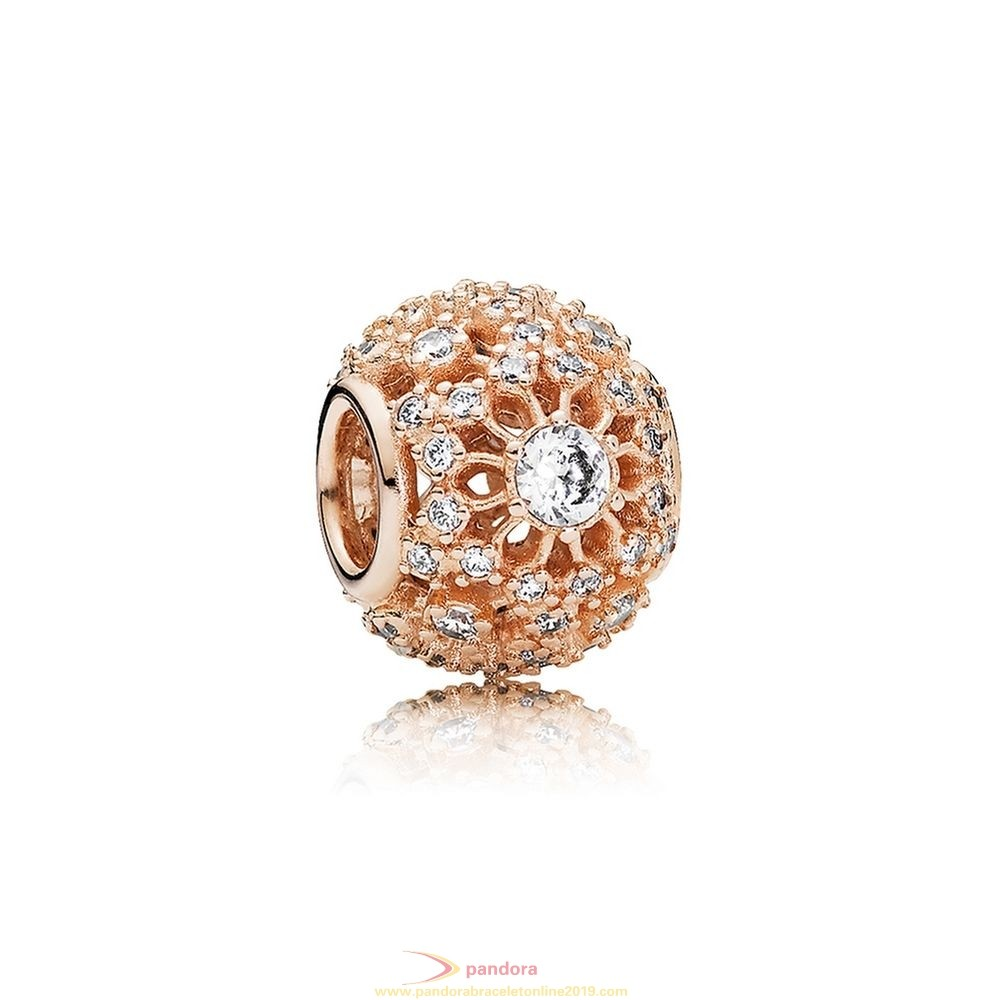 Find Pandora Jewelry Pandora Inspirational Charms Inner Radiance Charm Pandora Rose Clear Cz