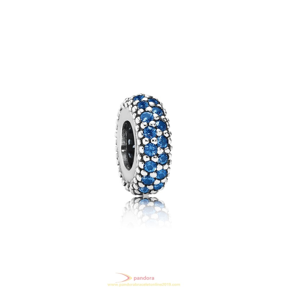 Find Pandora Jewelry Pandora Inspirational Charms Inspiration Within Spacer Blue Crystal