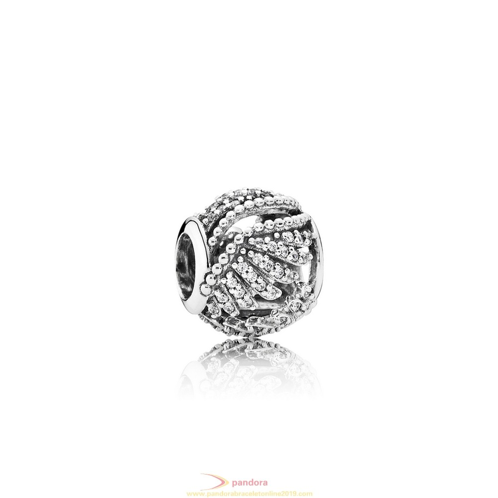 Find Pandora Jewelry Pandora Inspirational Charms Majestic Feathers Clear Cz