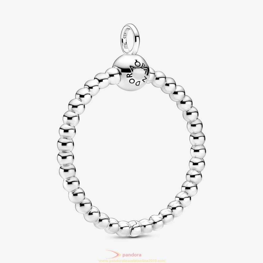 Find Pandora Jewelry Pandora Moments Medium Beaded O Pendant