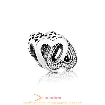Find Pandora Jewelry Pandora Symbols Of Love Charms Entwined Love Charm Clear Cz