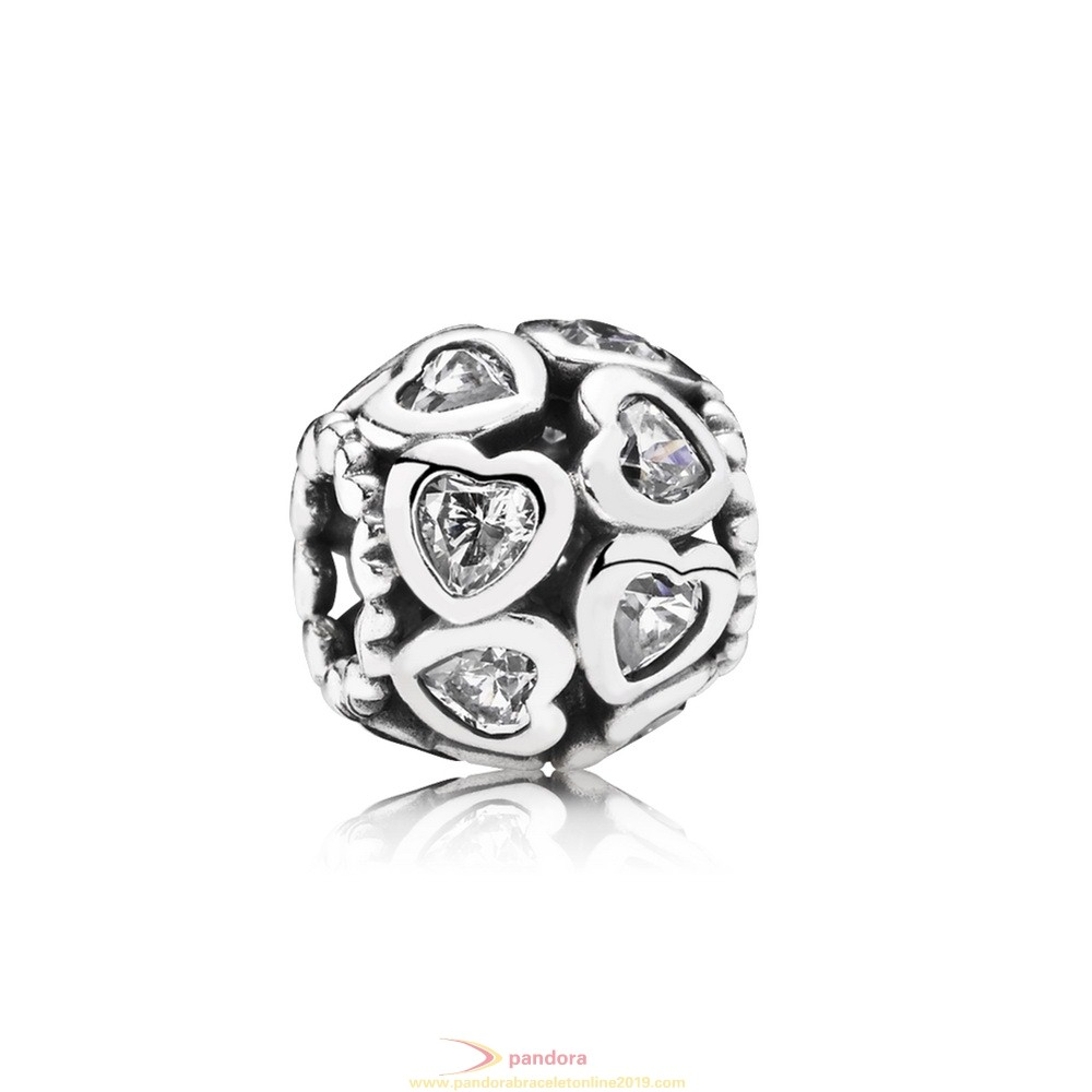 Find Pandora Jewelry Pandora Symbols Of Love Charms Love All Around Charm Clear Cz